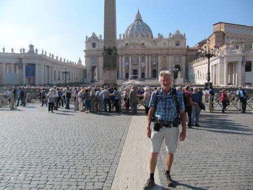 Als pelgrim op weg naar Rome